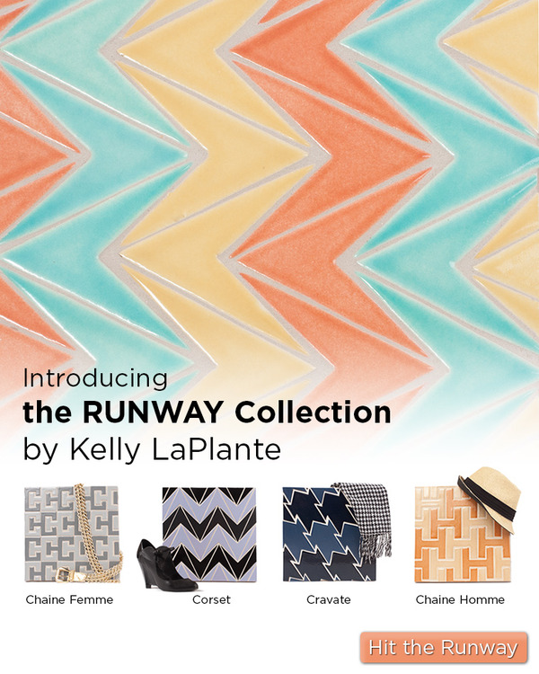 Fireclay Tile launches the Runway Series by Kelly LaPlante