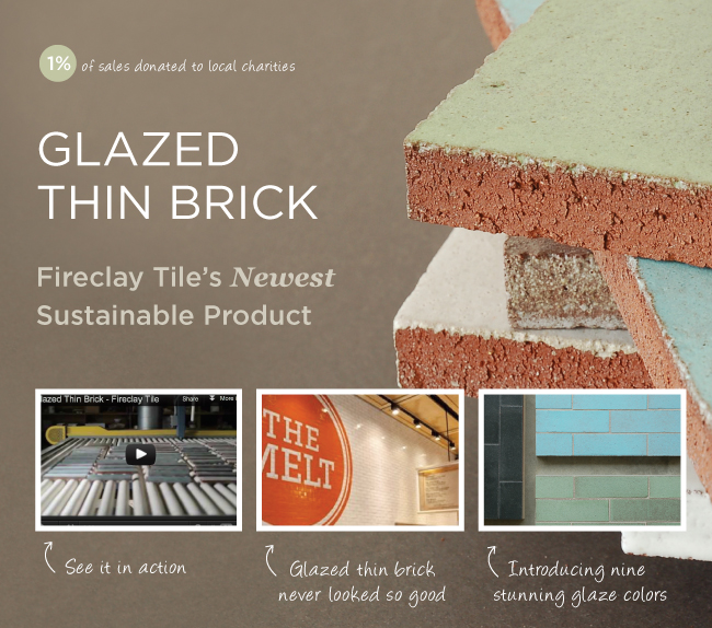 Glazed Thin Brick